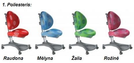 Augančios kėdės vaikams My Pony