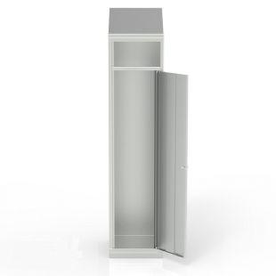 """Metalinė spinta nešvariems rūbams su nuolaidžiu stogu """"Classic Cube"""""""