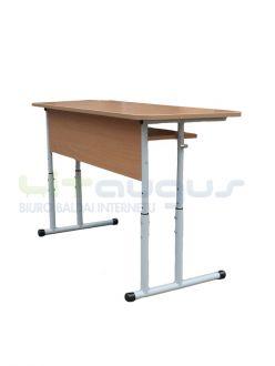 Dvivietis mokyklinis reguliuojamo aukščio stalas