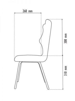 Vaikiška kėdė Entelo 7