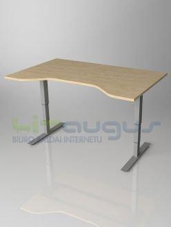 """Reguliuojamo aukščio stalas """"Go! 650 Ergo"""" 1"""